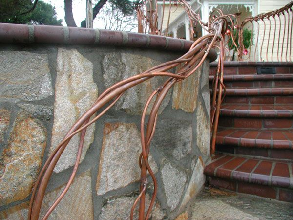 Best Image Result For Copper Handrails Handrails Railing Copper 640 x 480
