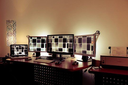 How To Create The Perfect Home Office Lighting Setup Apartment