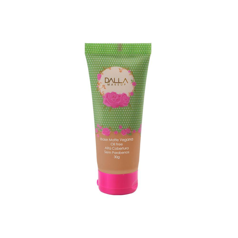 Pin de Dalla Makeup em Base matte Vegana Dalla Makeup
