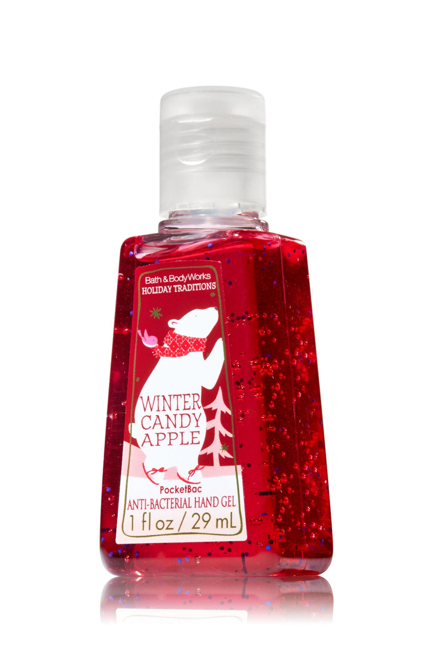 Winter Candy Apple Pocketbac Sanitizing Hand Gel Soap Sanitizer
