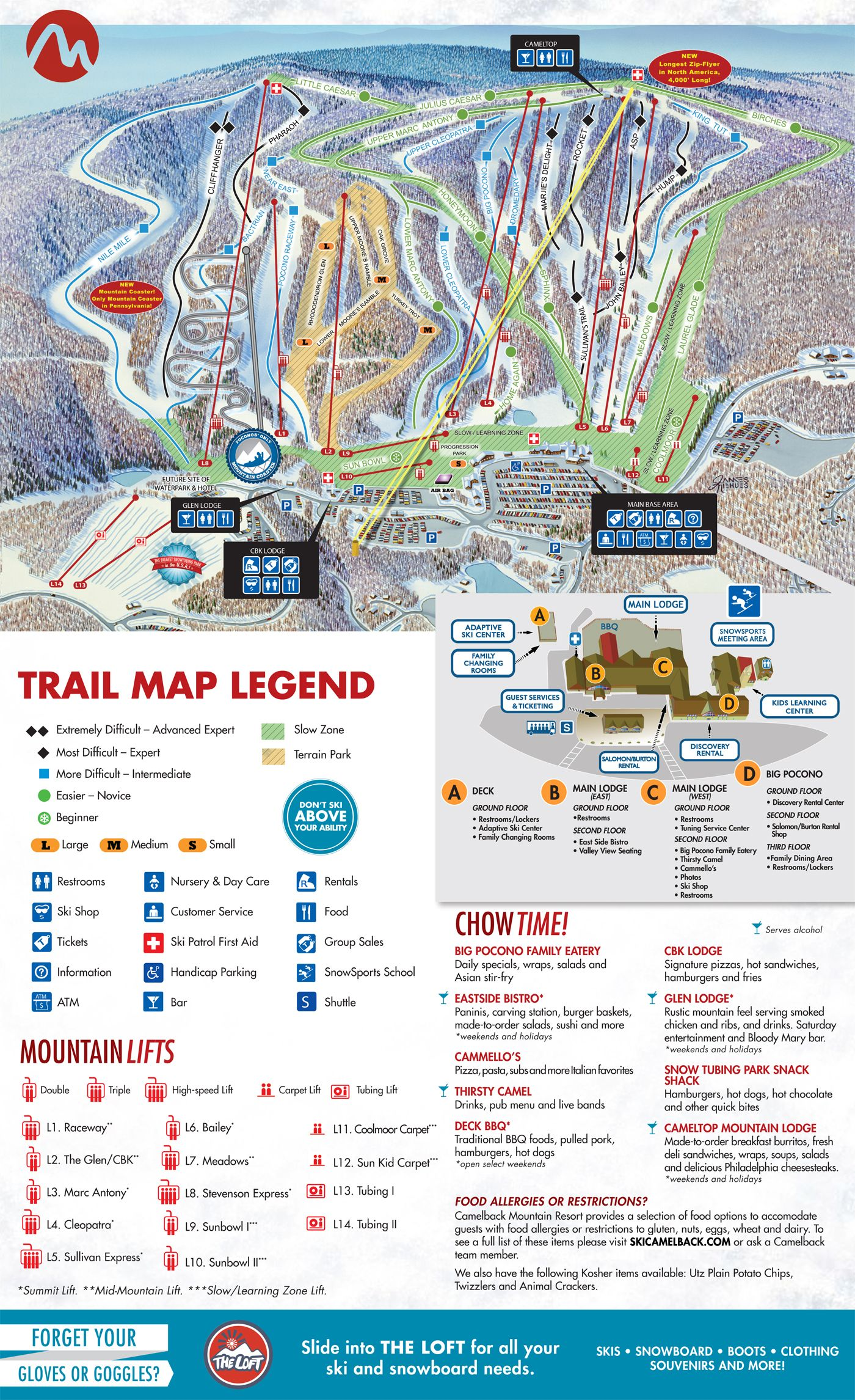 camelback ski resort | rei sells discounted lift tickets to