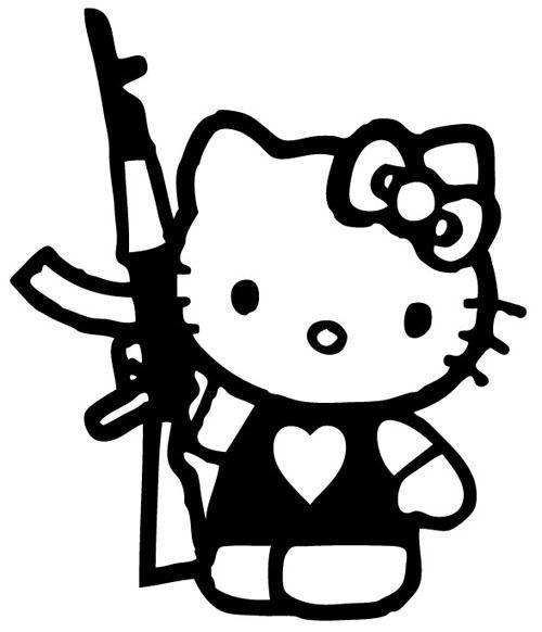 hello kitty dekaler