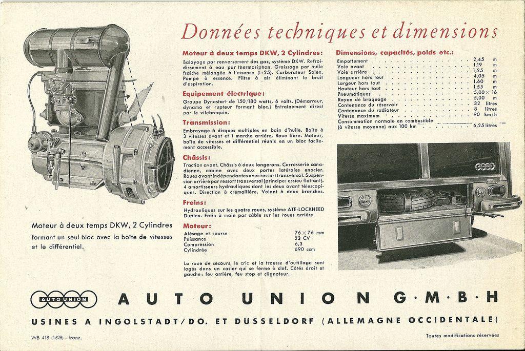 Dkw 690cc Car Maintenance French Language Engineering