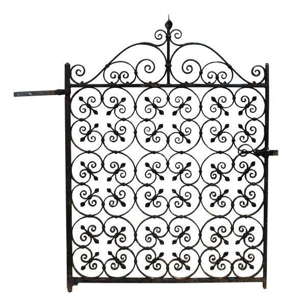 EDWARDIAN WROUGHT IRON PEDESTRIAN GATE - UK Architectural Heritage