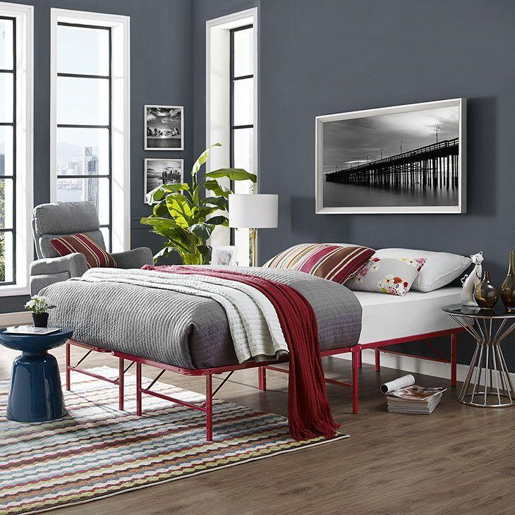 Orion Full Stainless Steel Bed Frame | Pinterest