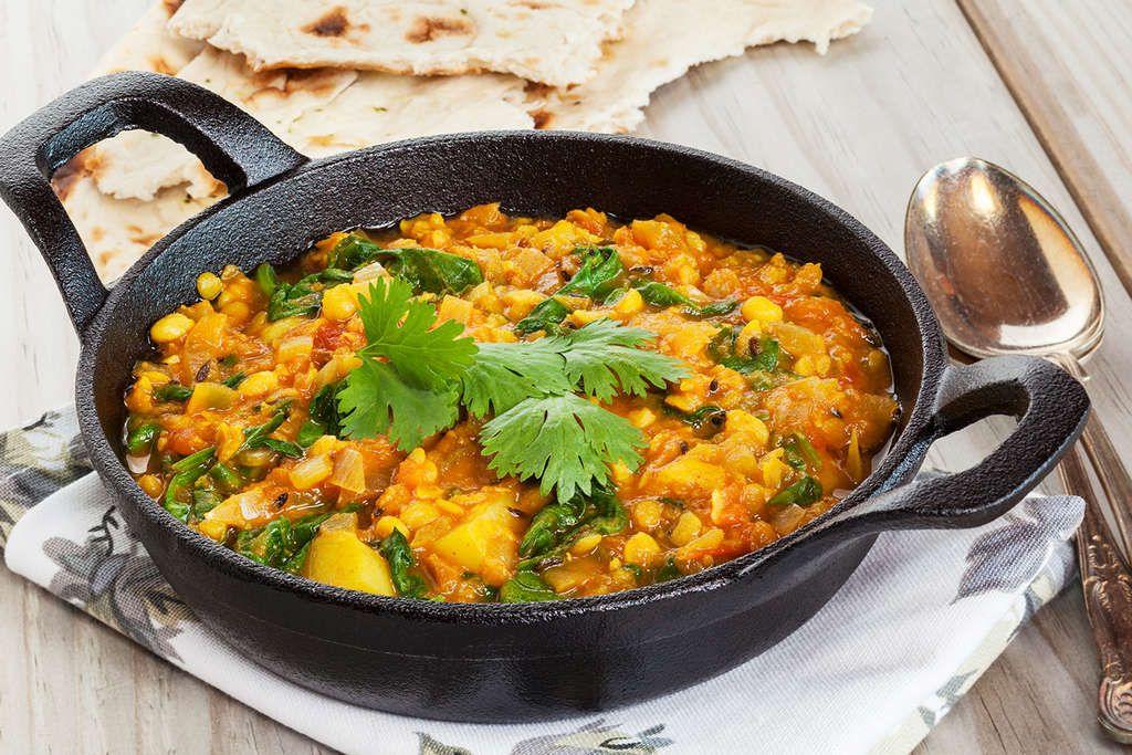Ayurvedisches Dal-Gericht Food - ayurvedische küche rezepte