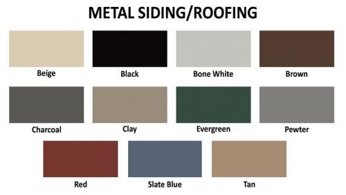 Best Metal Siding Roofing Color Metal Siding Horse Barns 400 x 300