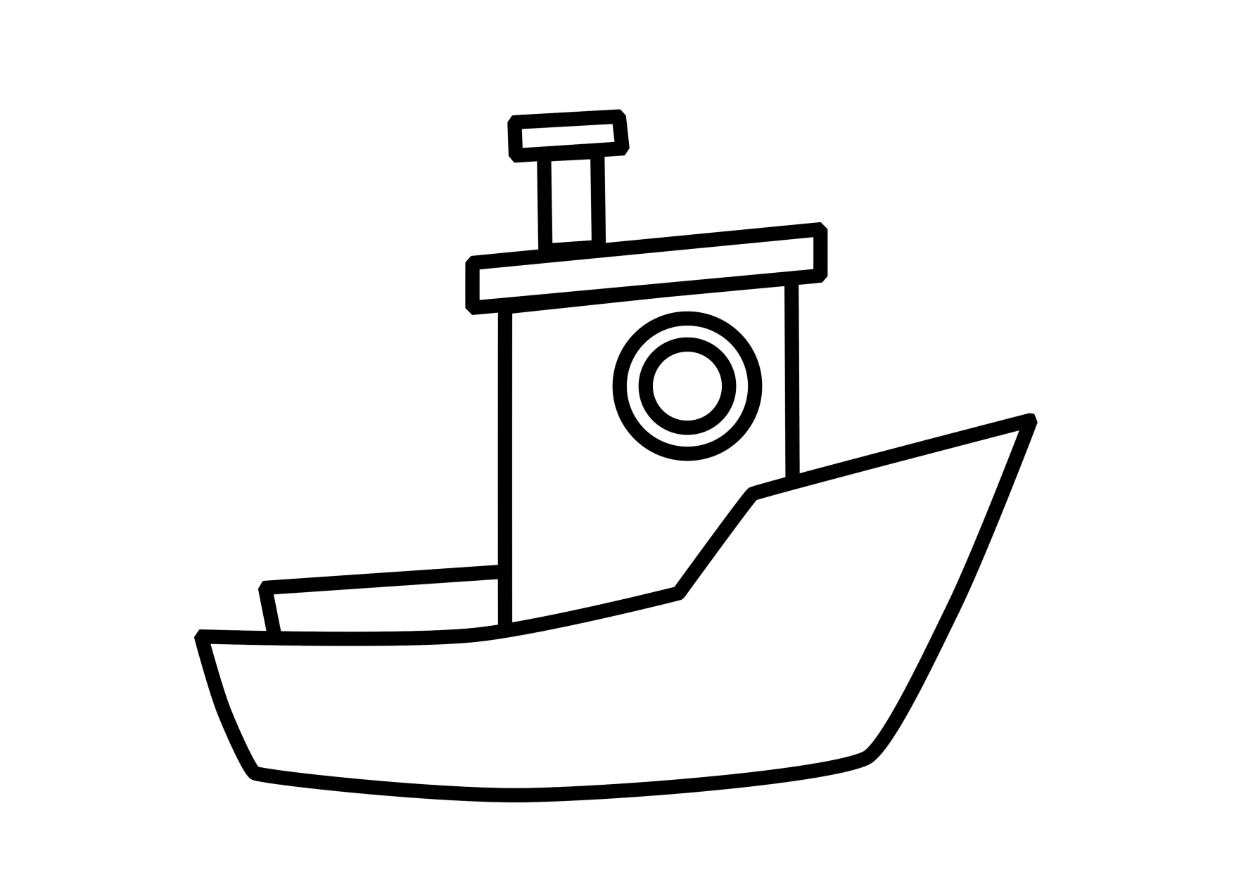 Download Collection Of 11 Boat Coloring Pages For Kids Home Worksheets For Preschool Boys And Girls Coloring Pages Template Printable Preschool Coloring Pages [ 1240 x 1754 Pixel ]
