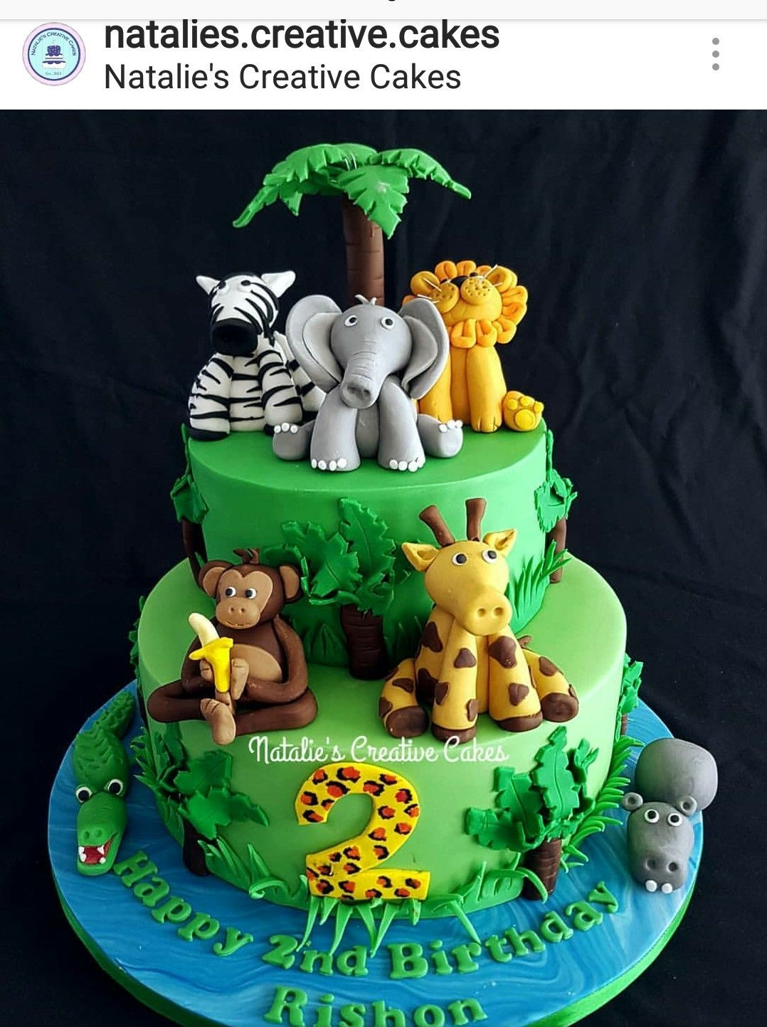 Pin By Briana Culver On Benjamin S First Birthday Jungle