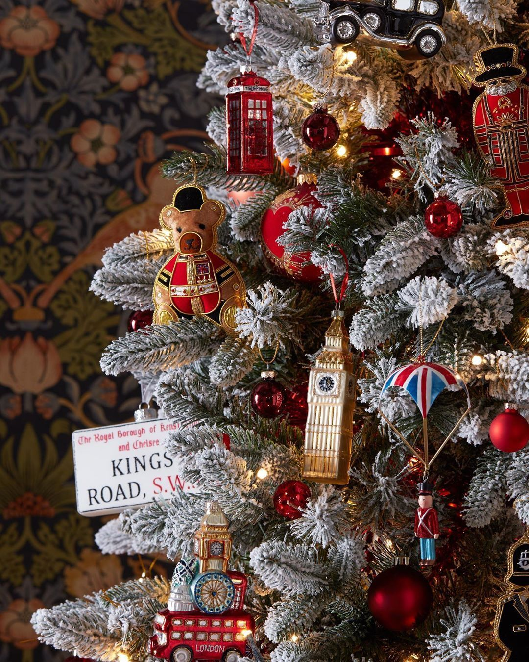 John Lewis Partners On Instagram The Christmas Tree Equivalent Of Taking An Open Top Bus Tour Of London In 2020 Tree Decorations Christmas Themes London Christmas