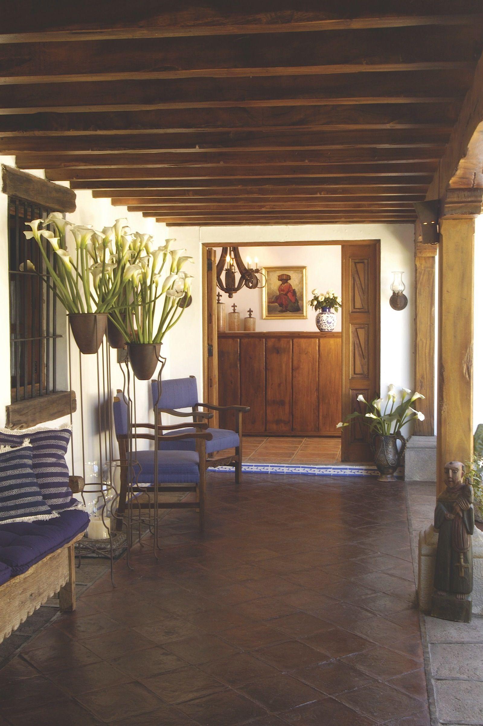 interiores casas antigua guatemala  Buscar con Google