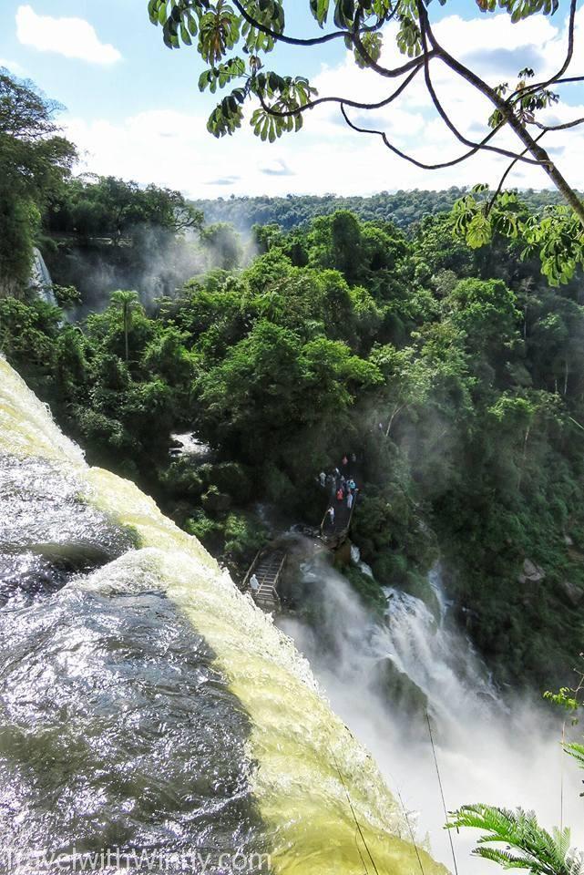 Iguazu Falls experience, waterfall 瀑布