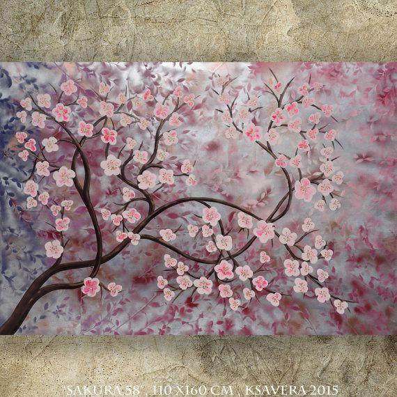 Statement Clutch - Cherry blossoms - sakura by VIDA VIDA gsHEx85t