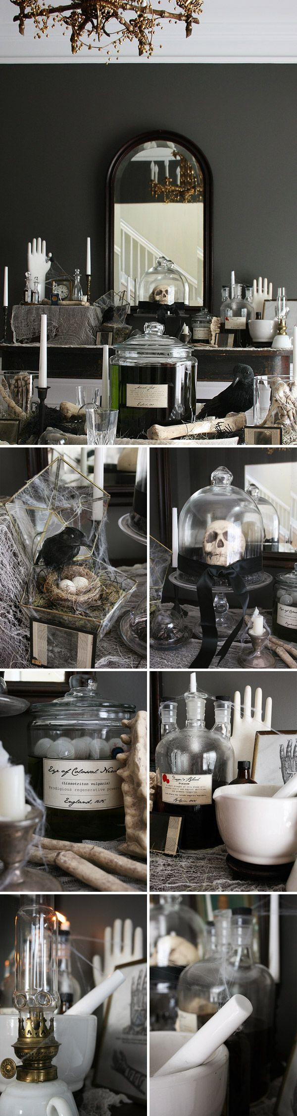 Mad Scientist Halloween Party   Spooky Elegant Halloween Decor ...