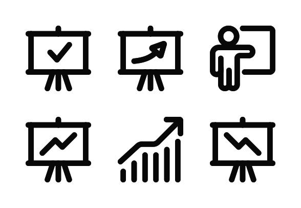 Analytics Icons By Sergey Shmidt Analytics Icon Tutorial