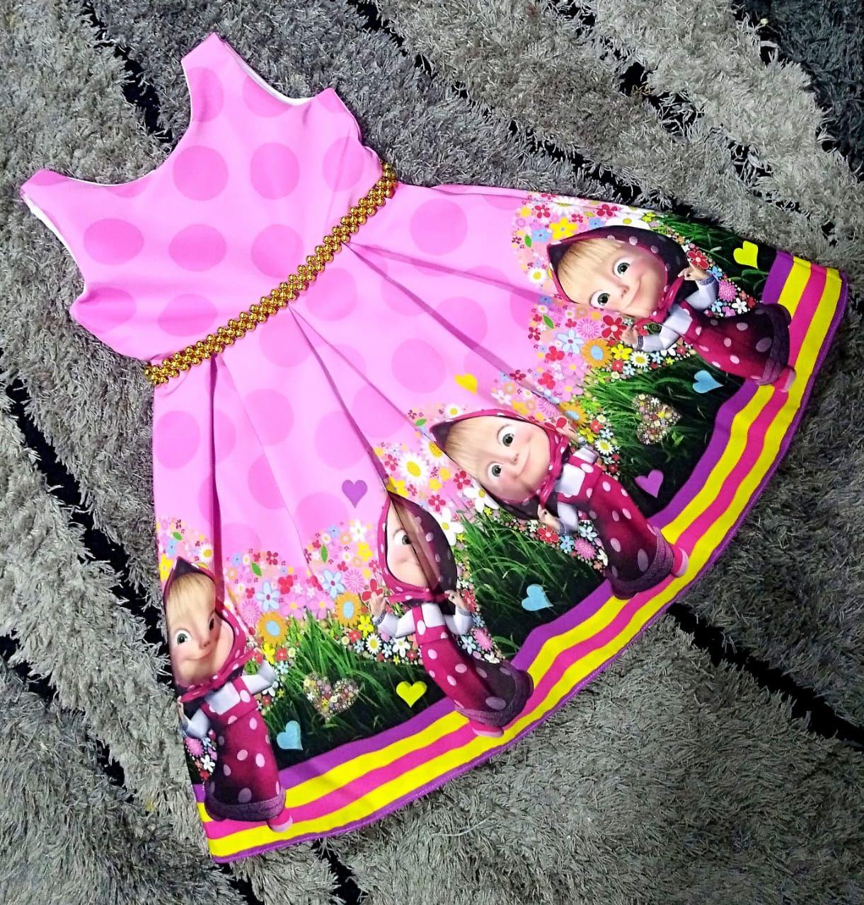 Vestido Masha Rosado 68000 Info Y Ventas Al Whatsapp