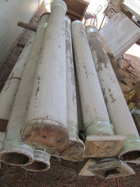 Columns For Sale >> Old Porch Columns We Have For Sale Salvage Upcycling