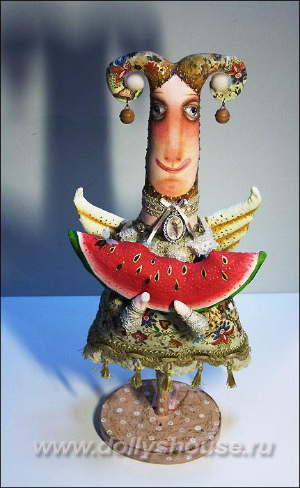 Авторская кукла Кристина Васса