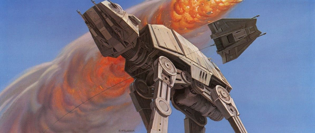 Freeze Your AT-AT Off With STAR WARS: THE EMPIRE STRIKES BACK Concept Art by Ralph McQuarrie « Film Sketchr