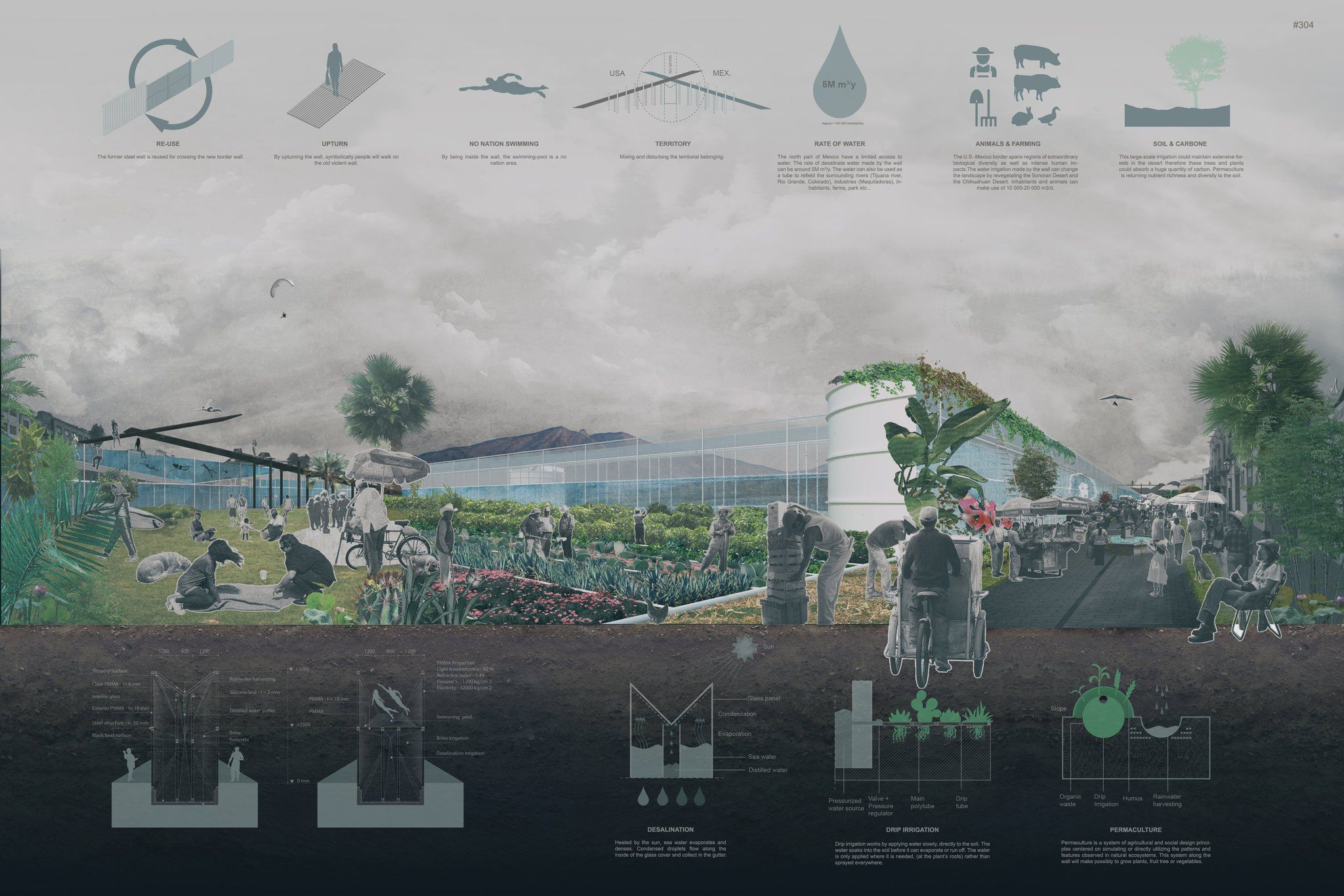Trump Plans To View Wall Prototypes Here Are Some He Won T See Published 2018 Us Mexico Border Wall International Design Competition Design Competitions