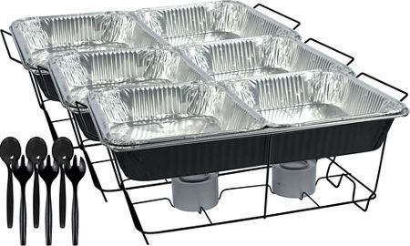 Chafing Dish Rack Inspiration Chafing Dishes Aluminum Pans & Chafing Fuel  Party City  Projects Design Ideas
