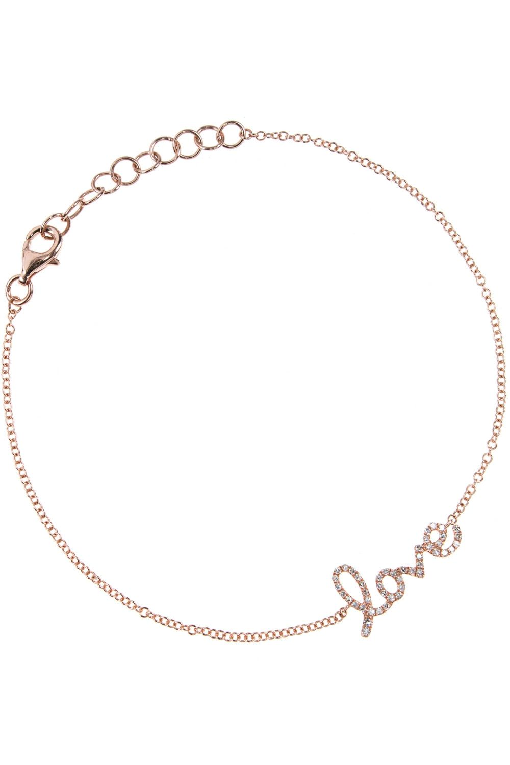 Rose Gold Armband Love Rose Gold Armband Mit Diamanten Accessory Pinterest