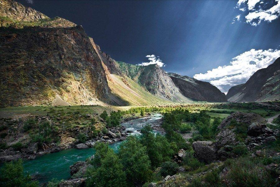 Перевал Кату-Ярык, зрелищный и впечатляющий ...