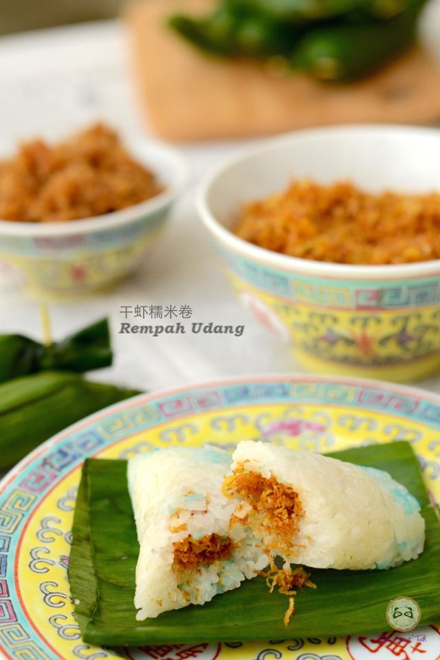 Coco's Sweet Tooth ......The Furry Bakers: 干虾糯米卷 Rempah Udang