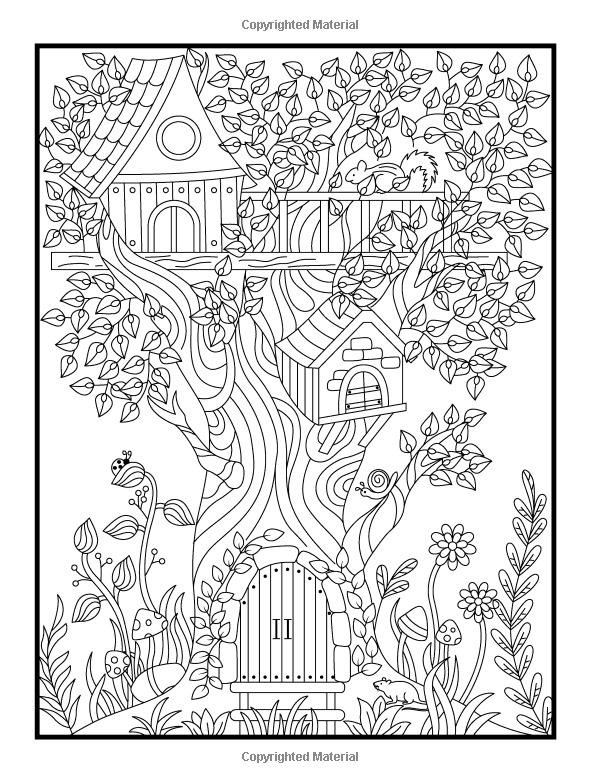 Hidden Garden An Adult Coloring Book With Secret Forest Animals Enchanted Flower Designs And Fantasy Nature Patterns 9781541002159 Jade Summer