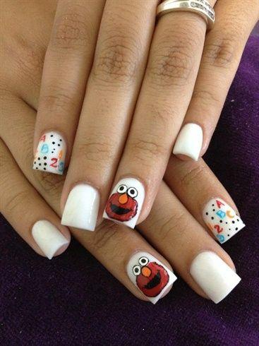 Elmo Nail Art Gallery Nailartgalleryilsmag By Nailsmag