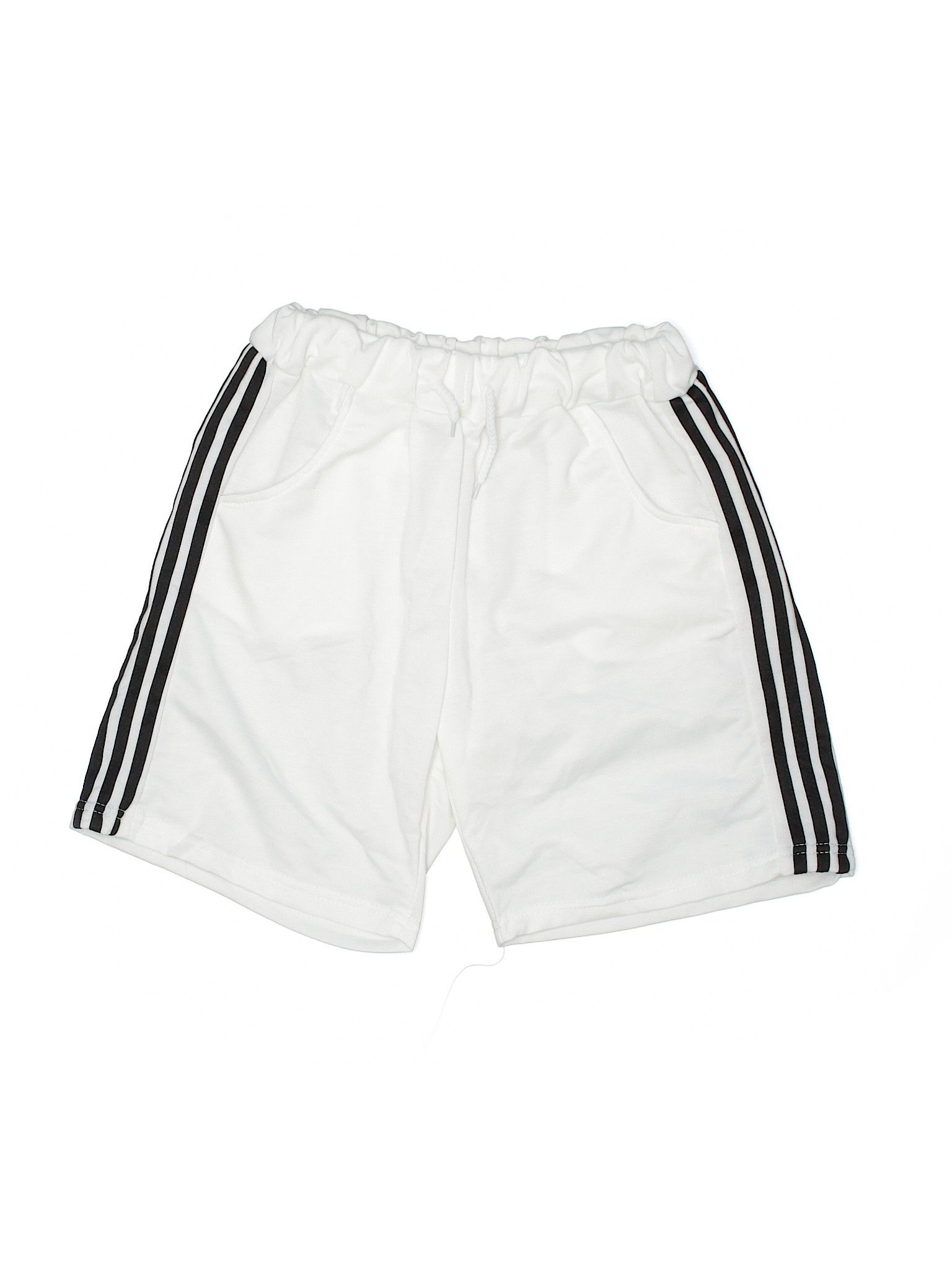 Short Youth Elastic White Boy S Bottoms Size Small Second Hand Clothes Gym Shorts Womens Clothes