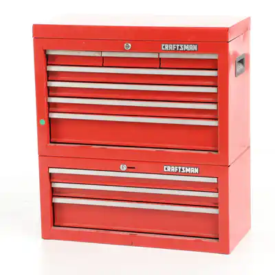 Craftsman Tool Chest With Tools In 2020 Craftsman Tools Chest Tools And Toys Craftsman Tools