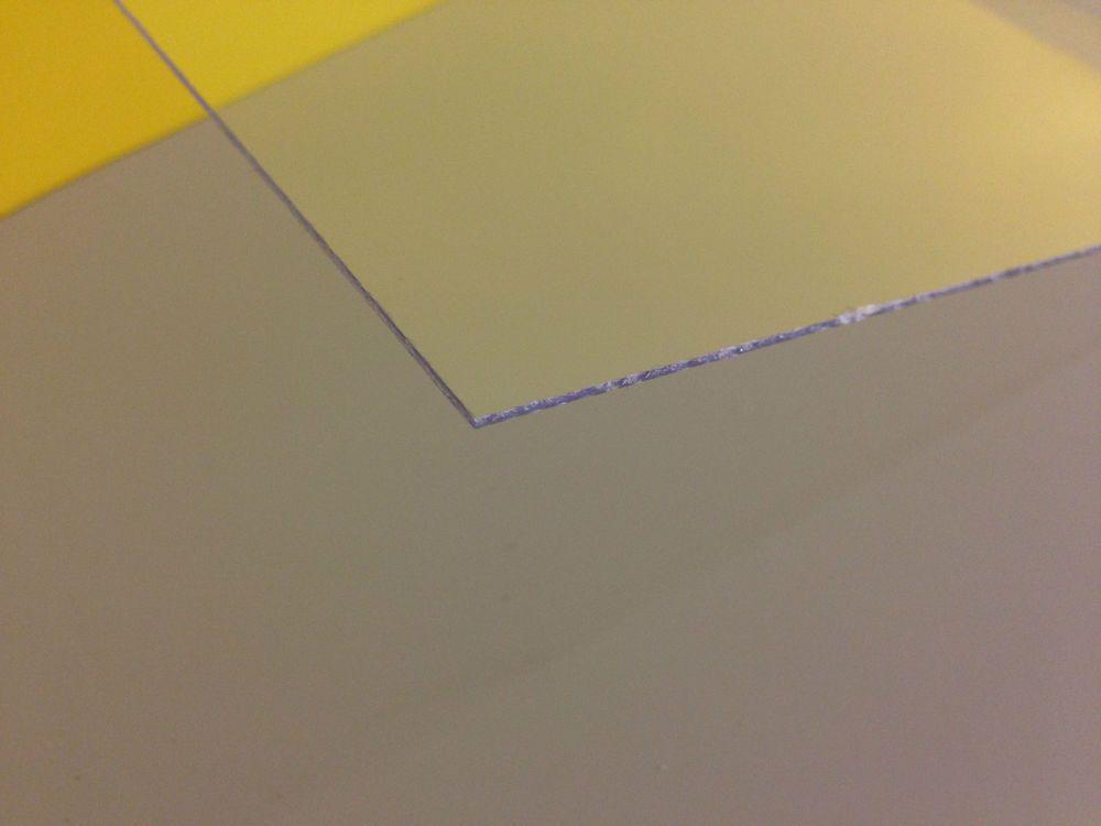 Clear Acrylic Plexiglass Plastic Sheet 040 X 12 X 12 Plastic Sheets Clear Acrylic Plexiglass