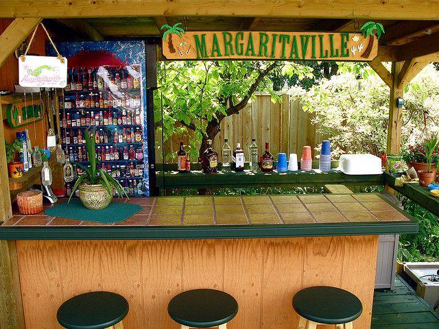 Margaritaville   Backyard Tiki Bar   Backyard bar ...