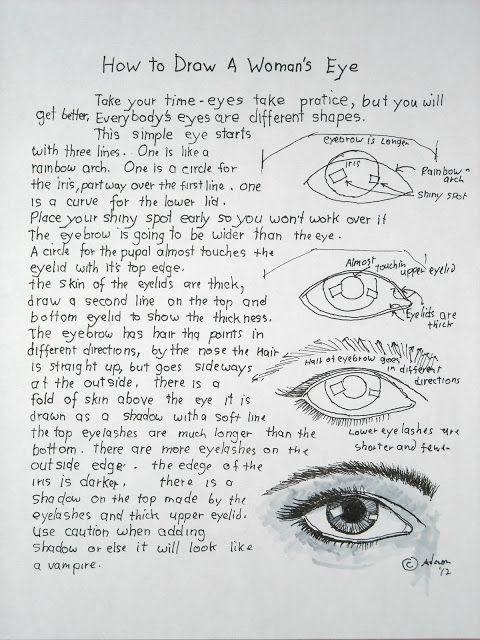 Dessin de l'oeil 1938    comment dessiner
