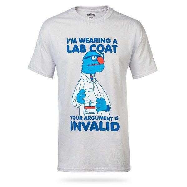 Grover S Lab Coat Lab Humor Lab Week Laboratory Humor