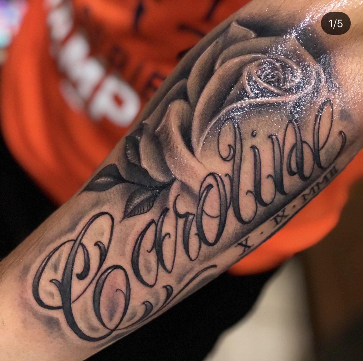 Pin By Rekviziter On Tattoo Name Tattoos On Arm Name Tattoos Baby Tattoos
