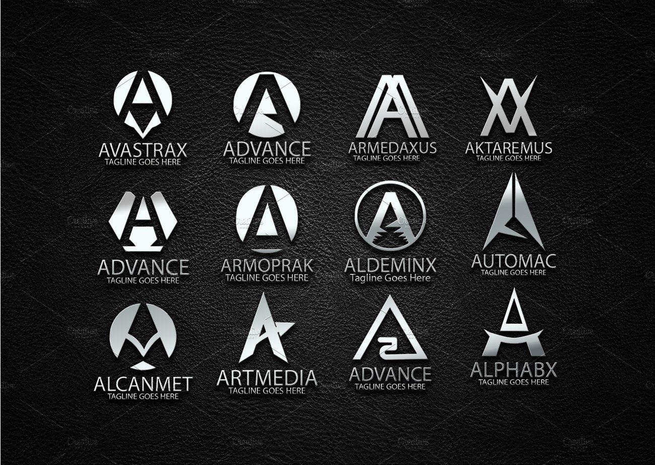A Letter Design Master Logo in 2020 Lettering design