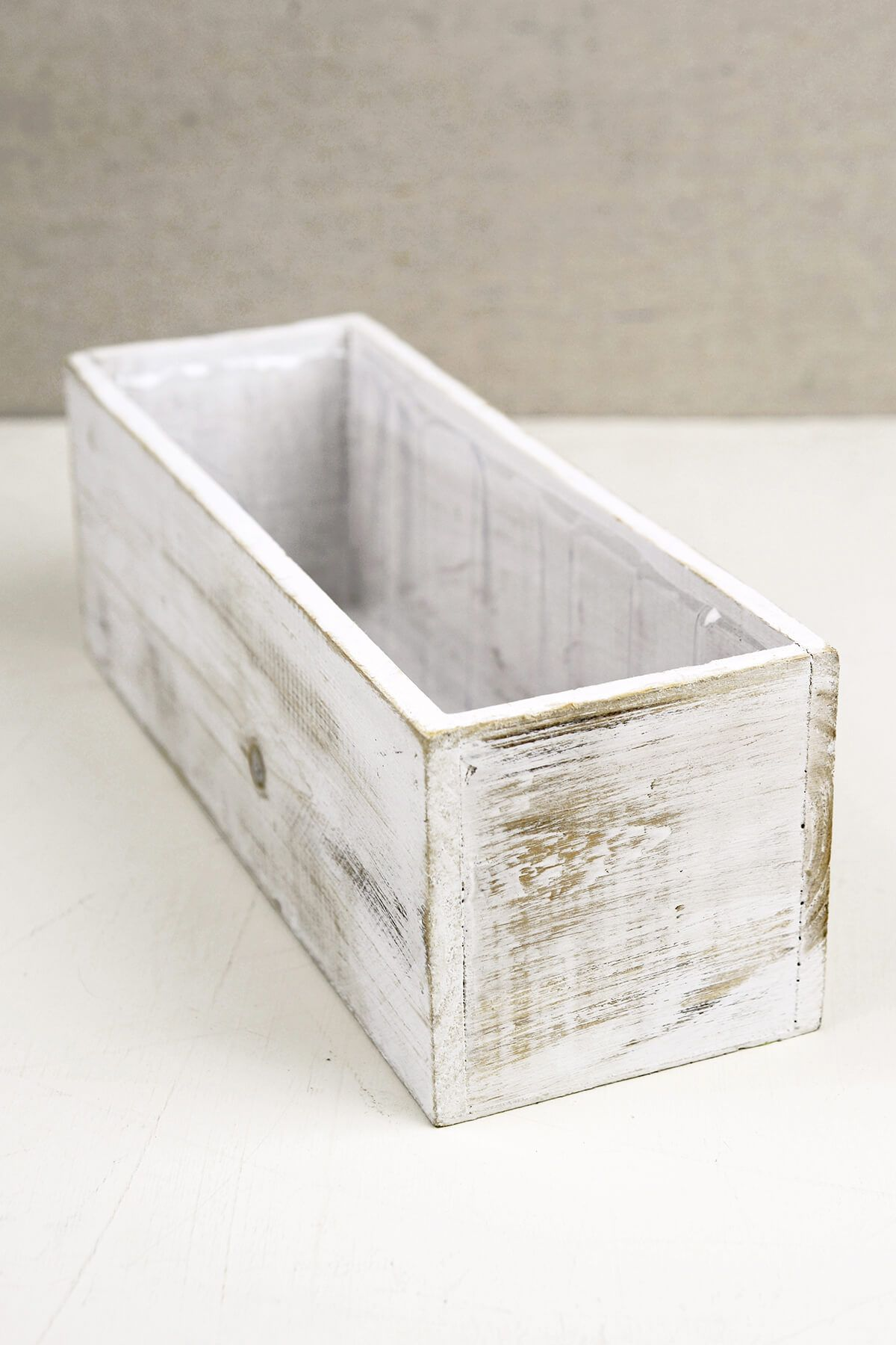 White 4x12 Wood Planter Boxes Planter Boxes Wooden Flower Boxes