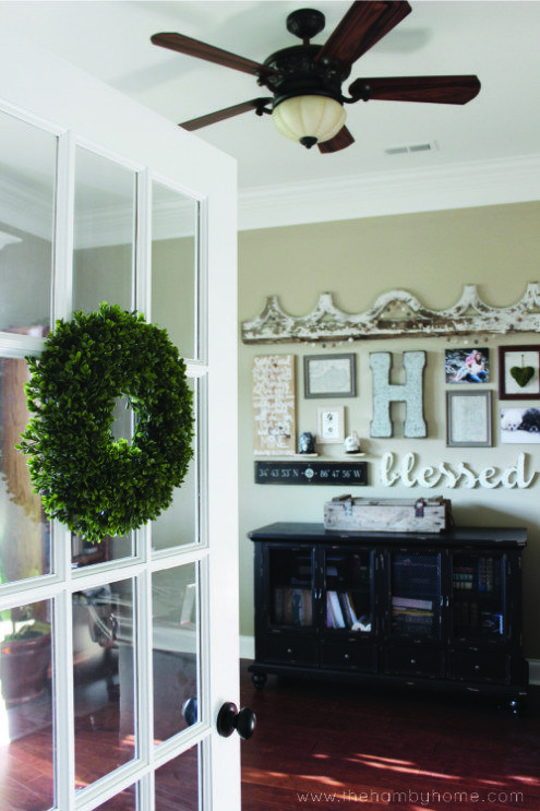 How To Hang Wreaths On Your French Doors Craft Room Ideas