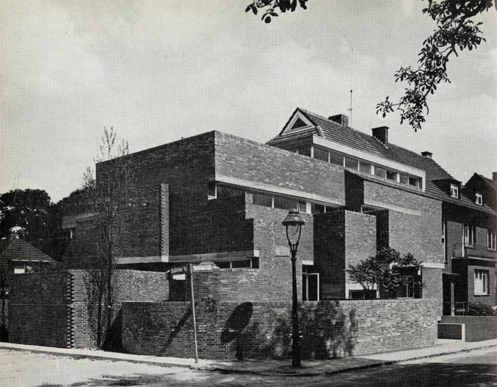 Oswald mathias ungers architect 39 s house cologne for Architektur studieren nrw