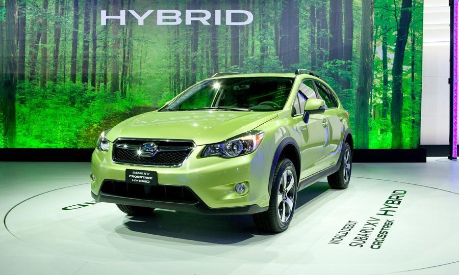 Subaru Xv Crosstrek Hybrid Revealed At New York Auto Show
