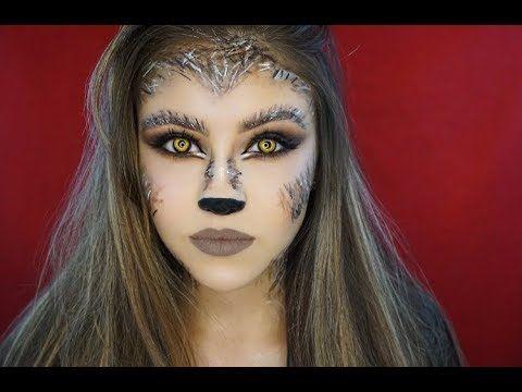 werewolf makeup tutorial  marki rochelle  youtube