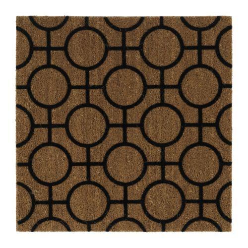 TRAMPA Tapete de entrada IKEA Fácil de manter limpo: sacuda ou aspire o tapete. Base em látex; mantém o tapete no seu lugar.