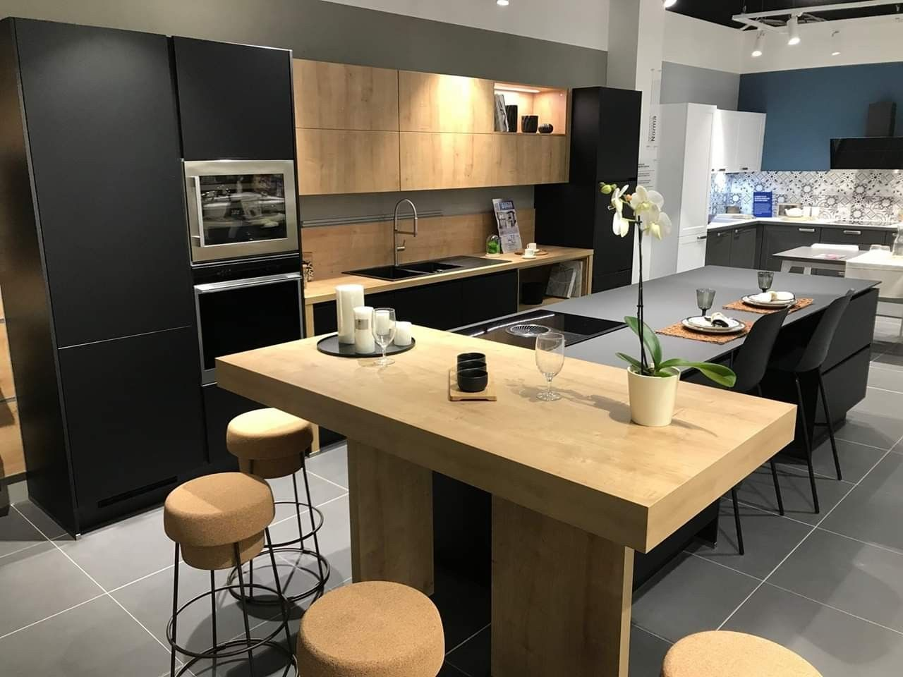 Epingle Par Jessica Munoz Sur Cuisine Deco Cuisine Appartement Cuisine Contemporaine Cuisine Moderne