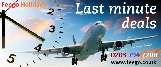 Cheap Last Minute Flights >> Get Last Minute Flight Deals On Feego Co Uk With All Major
