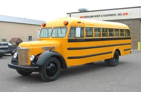 1948 International School Bus Found On Www Motors Usvin Com
