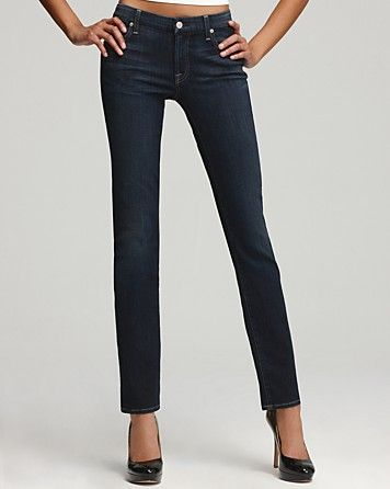 7 For All Mankind Jeans Kimmie Straight Leg Jeans In Desert