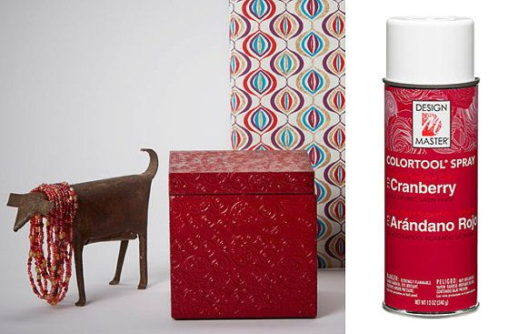 Cranberry Design Master Colortool Spray Paint By Uniqueflowerchic