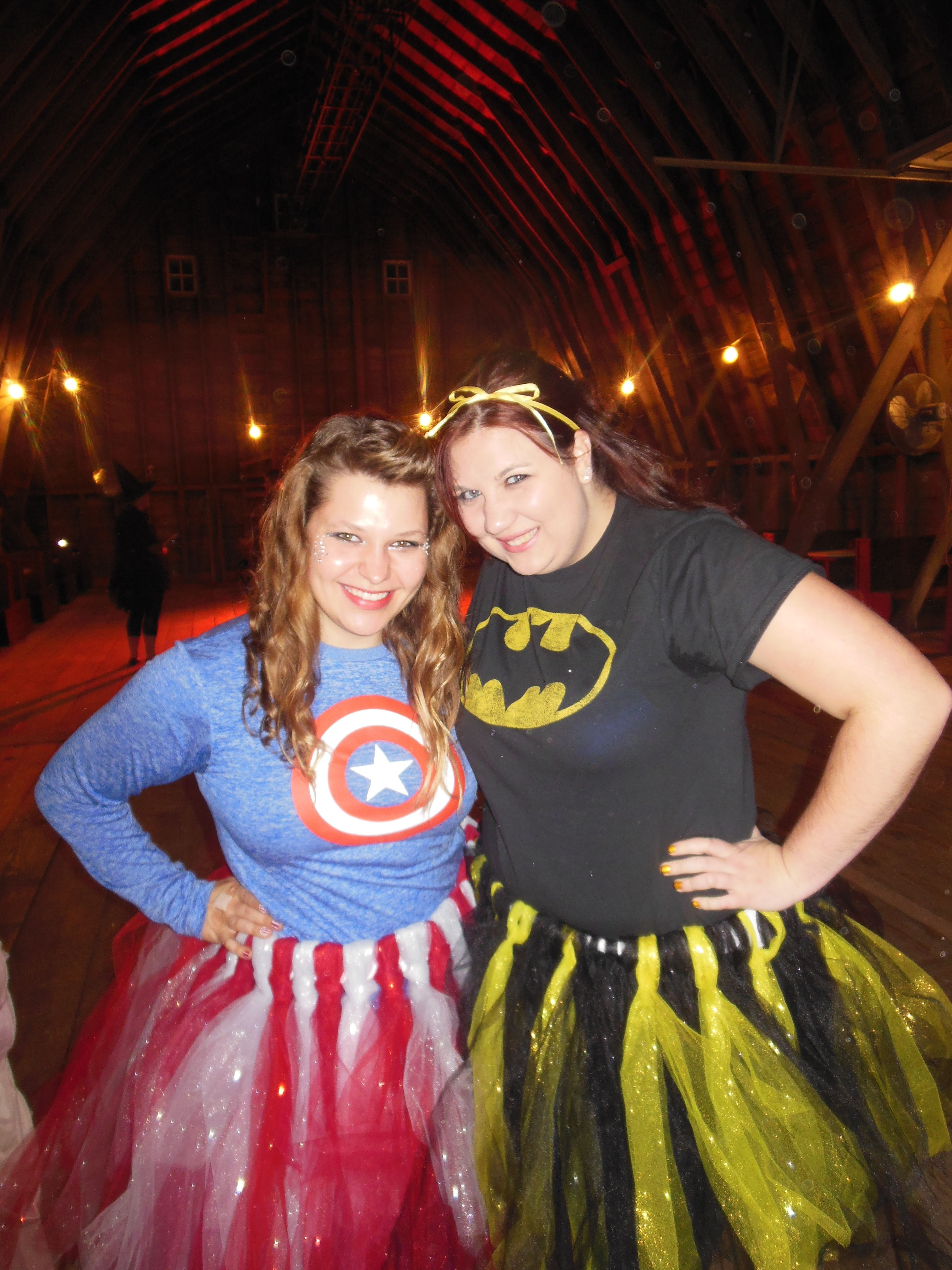 The definition of DIY halloween. We made our own tutus and